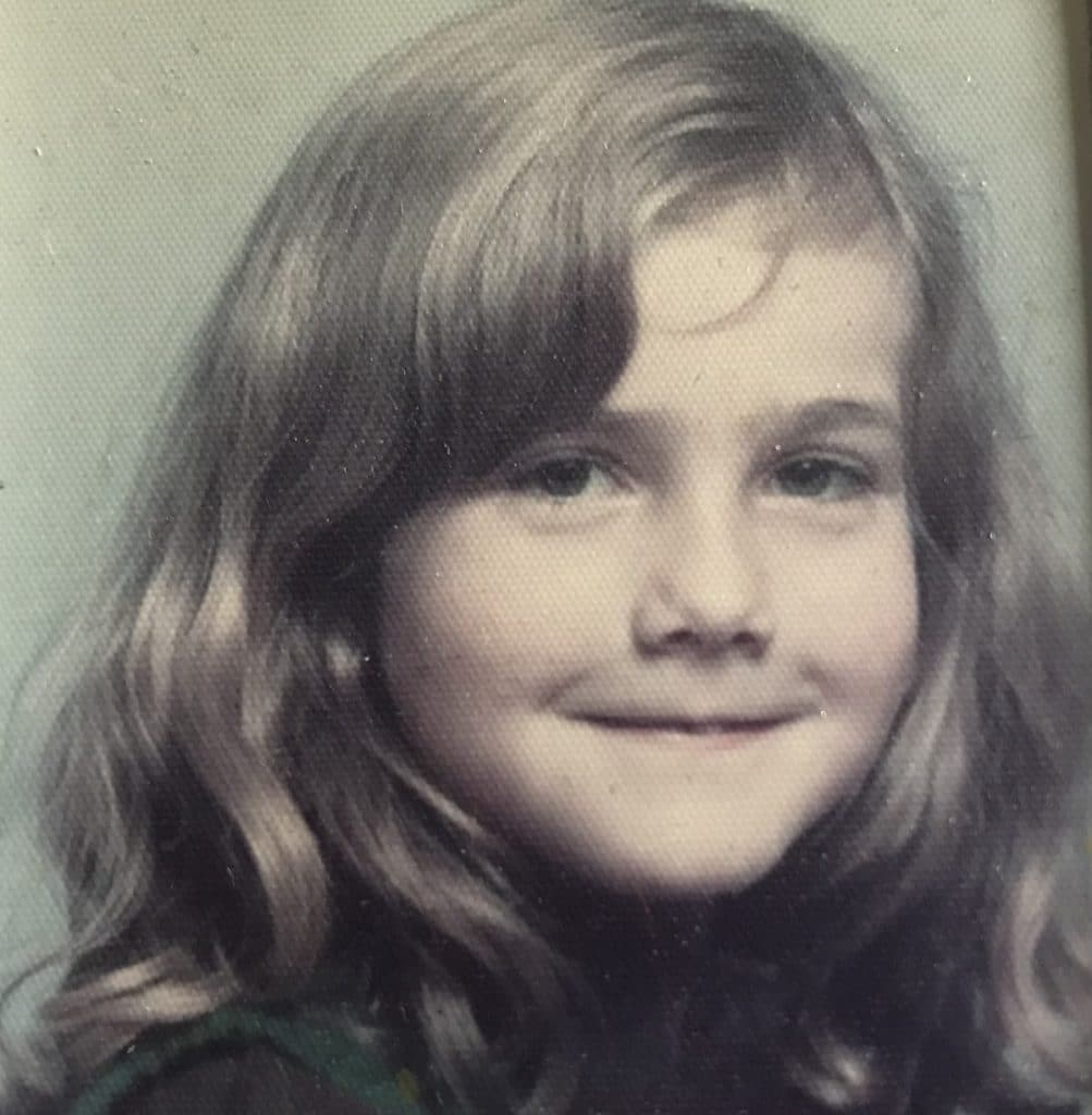 Oona at 7 years old